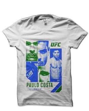 Paulo Costa White T-Shirt