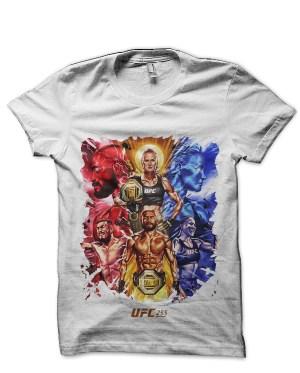 UFC Event Deiveson Figueiredo White T-Shirt