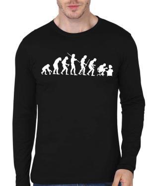The Evolution Of Man Geek T-Shirt