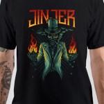 Jinjer Band Fire T-Shirt