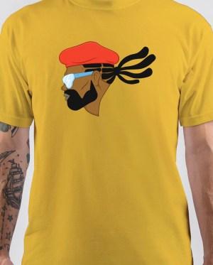 Major Lazer Cartoon Art T-Shirt