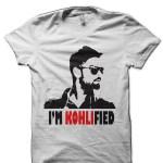 Virat Kohli White T-Shirt
