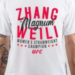 Weili Zhang White T-Shirt