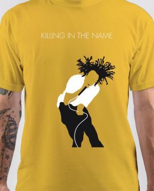 Zack De La Rocha Yellow T-Shirt