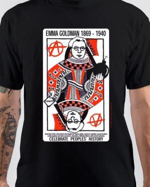 Anarchism Emma Goldman T-Shirt