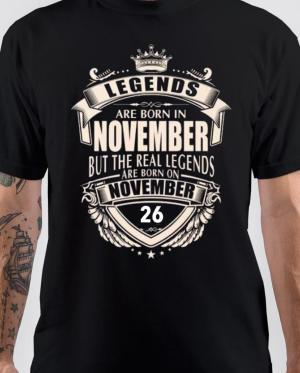 Legends Are Born On November 26