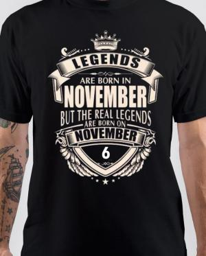Legends Are Born On November 6