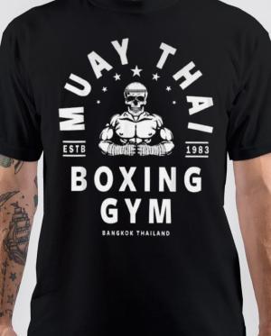 Muay Thai Boxing Gym T-Shirt