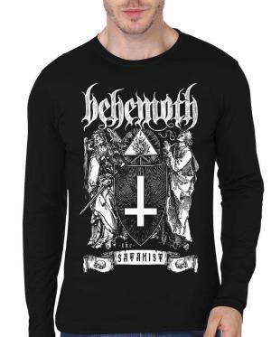 The Satanist Behemoth Full Sleeve T-Shirt