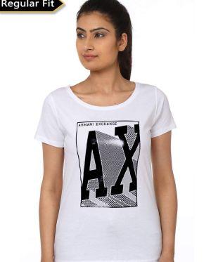 Armani Exchange White T-Shirt