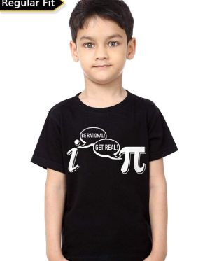 Be Rational Get Real Kids T-Shirt