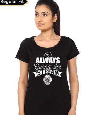 Stefan Salvatore Girls T-Shirt