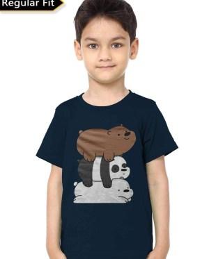 3 Bears Kids T-Shirt