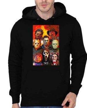 Horror Black Hoodie