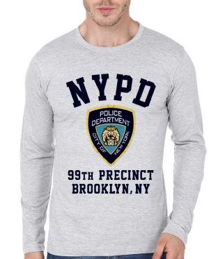 Nypd Full Sleeve T-Shirt