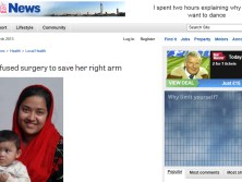 Case of Sanika Ahmed in The Portsmouth News