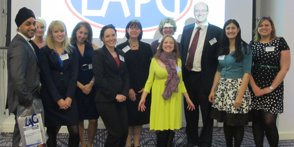 Legal Aid lawyers of the year 2012