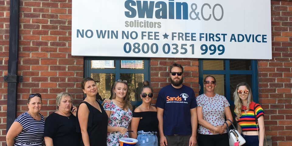 Sands Awareness Week | Swain & Co Solicitors