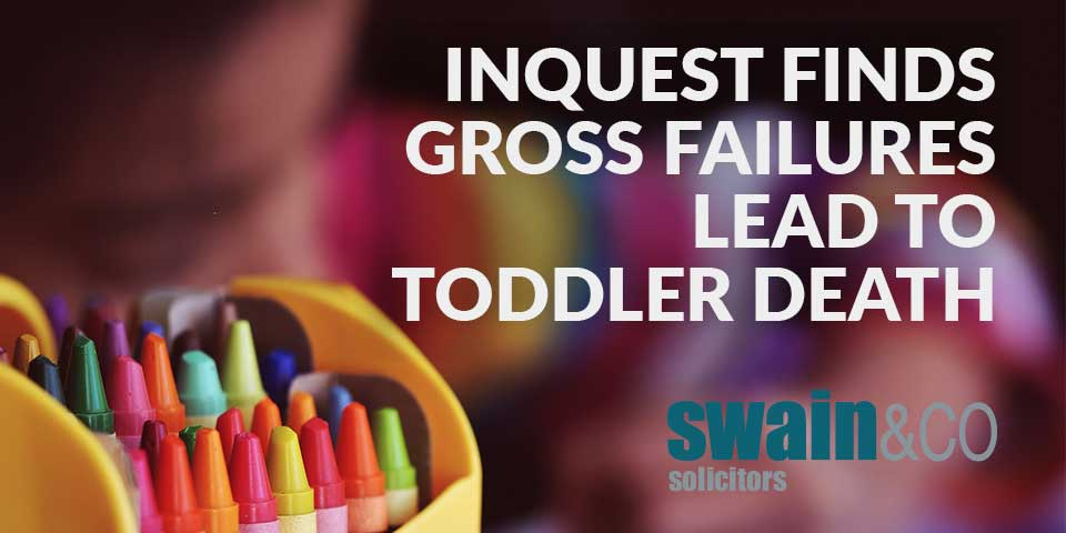 Inquest finds gross failures lead to toddler death