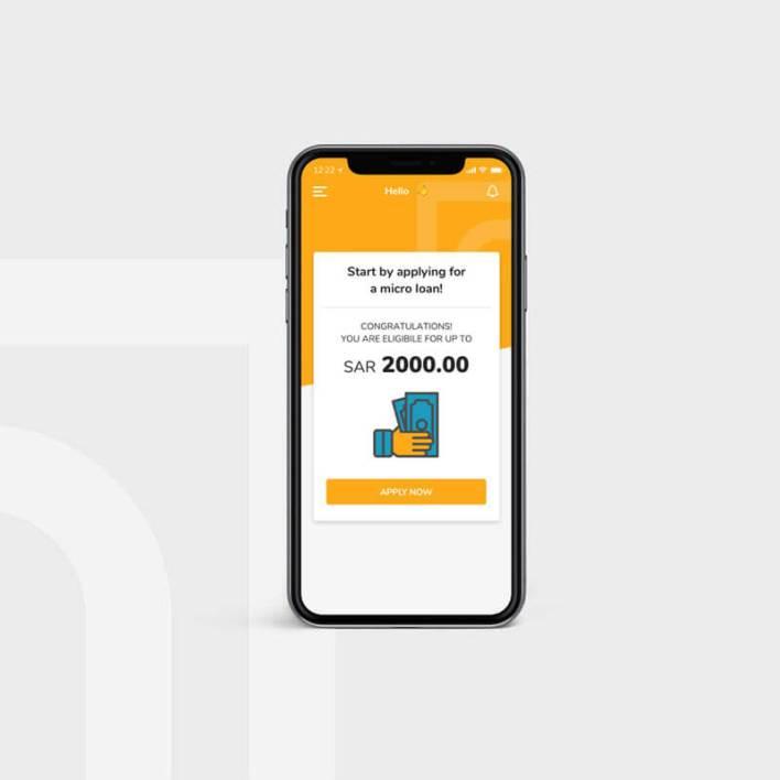 تطبيق تمام أول تطبيق في المملكة العربية السعودية يقدم قروضًا رقمية صغيرة