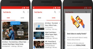تطبيق YouTube Go متاح الان على متجر جوجل بلاي لبعض الدول