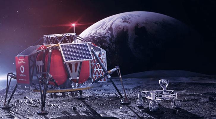 تقارير : فودافون ونوكيا يطوران شبكة 4G على سطح القمر العام القادم