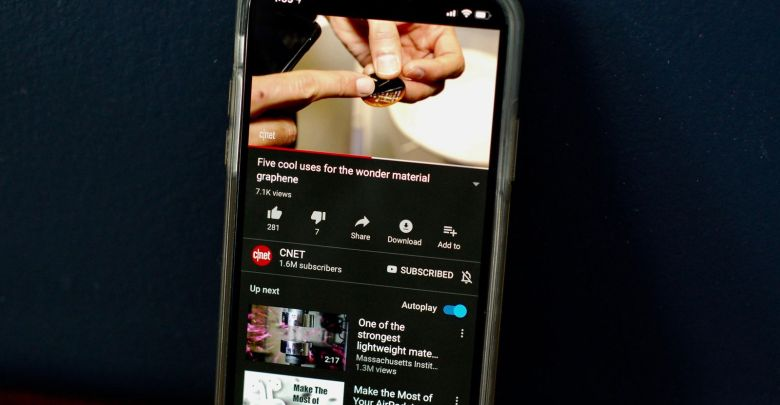 جوجل تبدأ في ارسال ميزة الوضع الليلي لبعض مستخدمي يوتيوب على الاندرويد