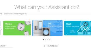 جوجل تطلق موقع خاص لمساعدها الرقمي Google Assistant