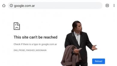 جوجل تفقد دومين رئيسي لنشاطها في الارجنتين لسبب مجهول