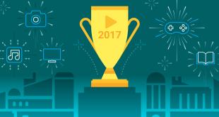 جوجل تنشر قائمة الافضل في 2017 على متجر بلاي
