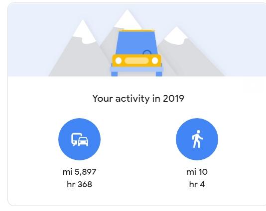 خرائط جوجل ترسل ملخص عام 2019 للمستخدمين 5