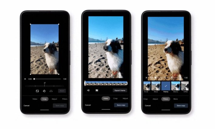 Google Photos يطلق محرر فيديو جديد للأندرويد 1