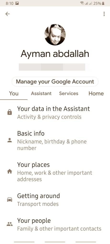 كيف تختار نموذج الصوت في مساعد جوجل Google Assistant 4