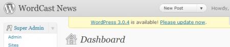 wordpress-update-notification