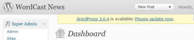 Wordpress تطلق إصدار جديد مفاجيء لترقيع تغرة أمنية 4