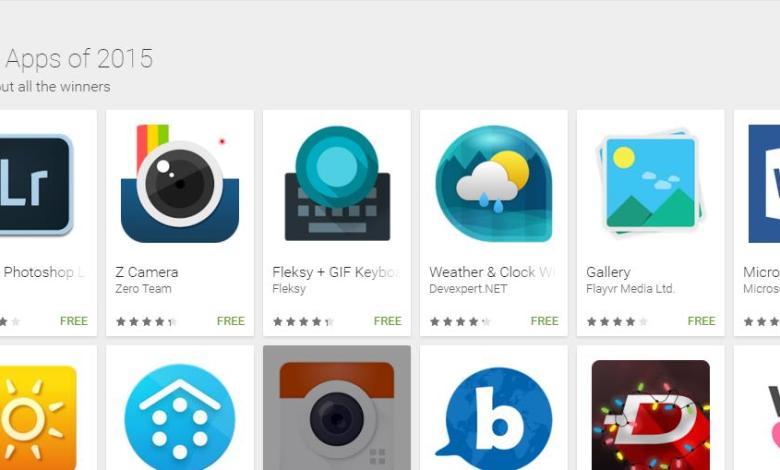 جوجل تكشف عن أفضل تطبيقات العام للاندرويد 1