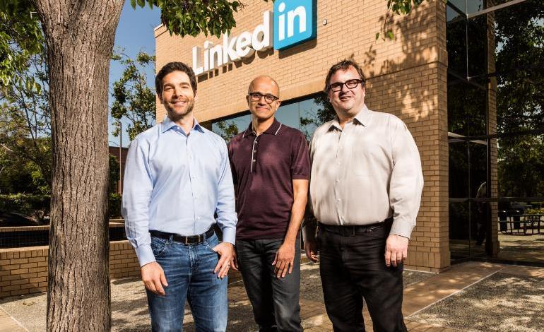 مايكروسوفت تستحوذ على شبكة لينكد ان مقابل 26.2 مليار دولار 2