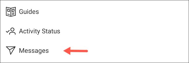 كيف تمنع مستخدمي فيس بوك من مراسلتك على انستجرام 3