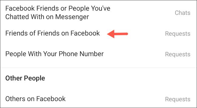 كيف تمنع مستخدمي فيس بوك من مراسلتك على انستجرام 6