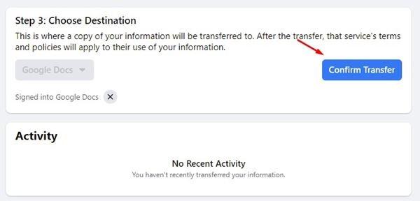 منشورات فيس بوك - كيف تقوم بتحويلها الى مستندات جوجل او ووردبريس 9