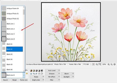 ويندوز 10 - كيف تضيف إطار للصور 3