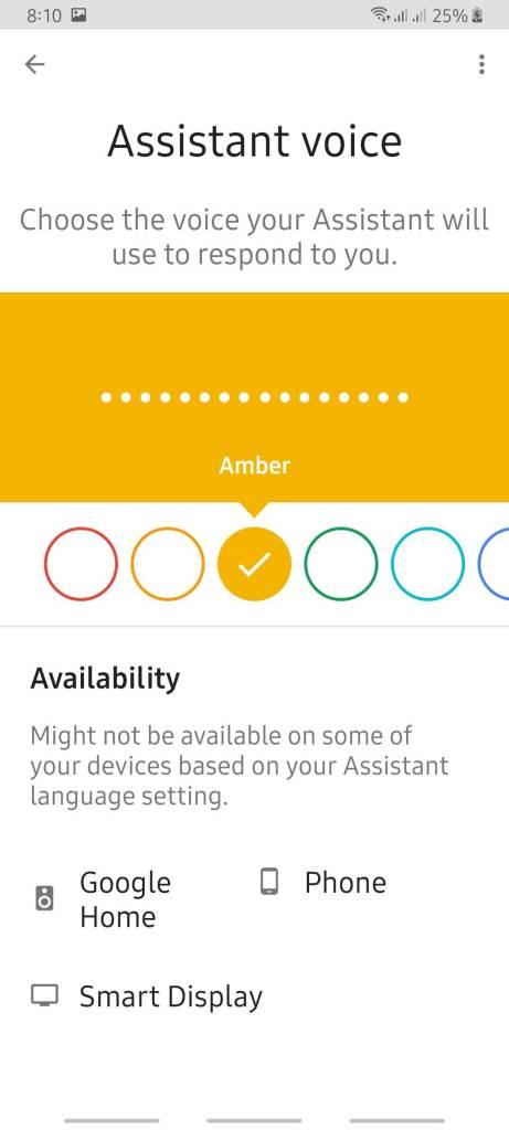 كيف تختار نموذج الصوت في مساعد جوجل Google Assistant 6