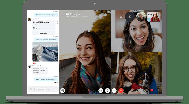 Skype كيف تنشيء رابط اجتماع وتشاركه مع الجميع