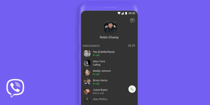 Viber يتيح الان جمع 30 شخص في مكالمة فيديو جماعية