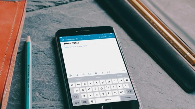 ووردبريس تطرح محرر جديد لتطبيقها على الهواتف الذكية 1