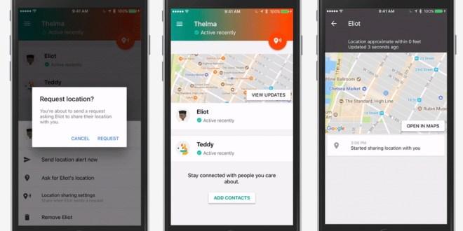 تطبيق Trusted Contacts من جوجل متاح الان للايفون