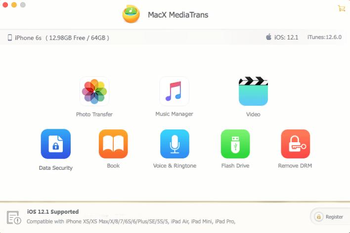 مراجعة برنامج MacX MediaTrans للايفون والايباد 5