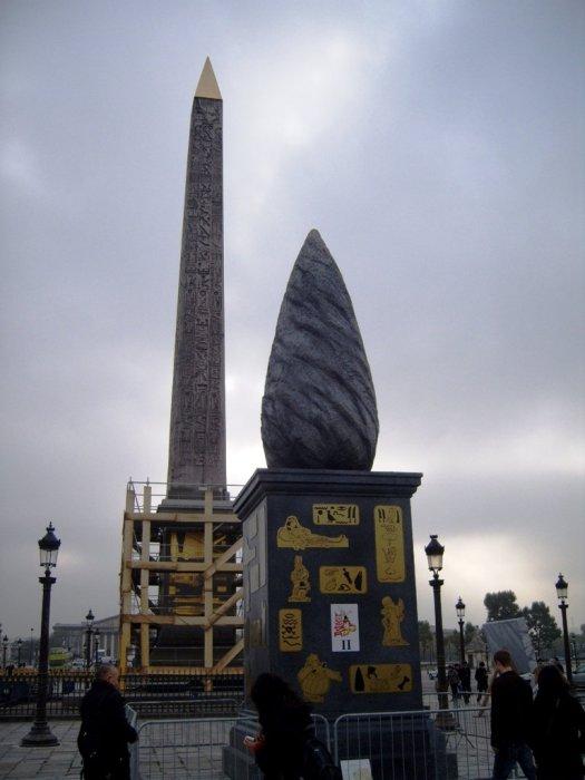 Menhir et Obelisque - Place de la Concorde