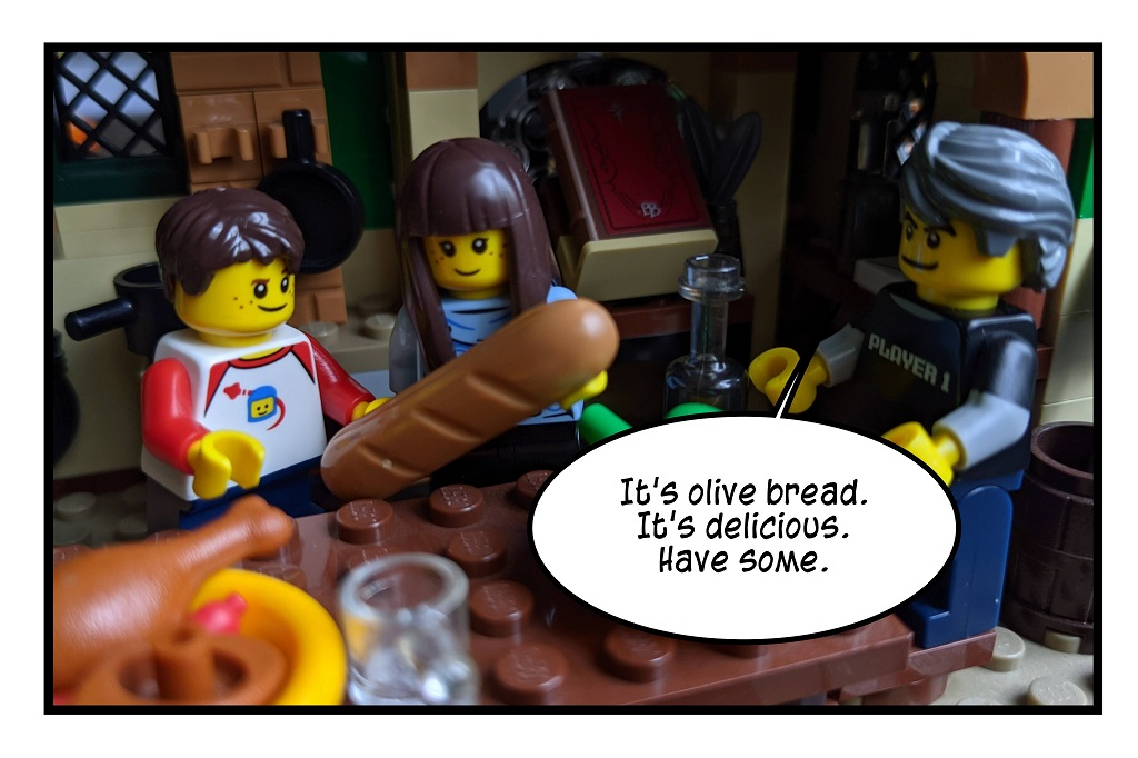 Olive bread?