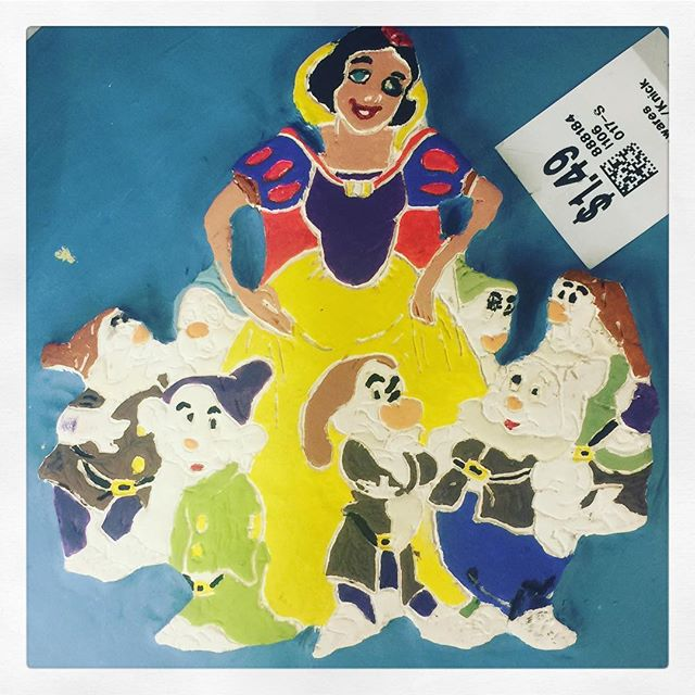 Snow White has seen and done some dark shit